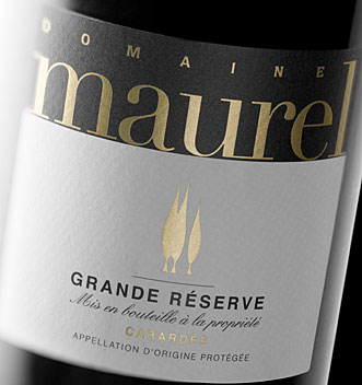 Photo DOMAINE MAUREL GRANDE RESERVE CABARDES